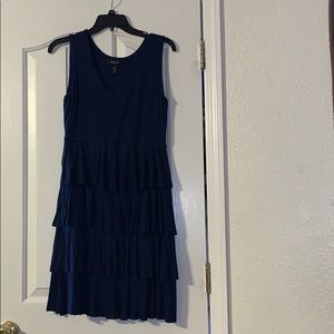 Navy Blue Tank Dress